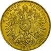 Zlatá mince - 10 Korun