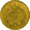 Zlatá mince - 20 Korun
