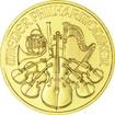 Zlatá mince Vídeňští filharmonici 1/4 Oz