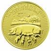 Zlatá mince Rok vepře 1 Oz (Velká Británie)