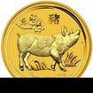Zlatá mince Rok vepře 2019 2 Oz