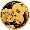 Zlatá mince Panda 15 g - 2019