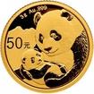 Zlatá mince Panda 3 g - 2019