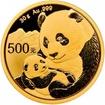 Zlatá mince Panda 30 g - 2019