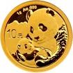 Zlatá mince Panda 1 g - 2019
