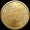 50 CAD Zlatá mince 40 let GOLD MAPLE LEAF 1 UNZE GOLD 2019