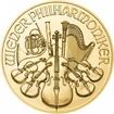 Zlatá mince Vídeňští filharmonici 1/2 Oz