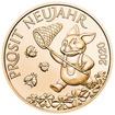 Bronzová mince Šťastný žeton 2020