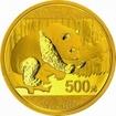 Zlatá mince Panda 30 gramů 2016