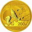 Zlatá mince Panda 15 gramů 2016