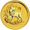 Zlatá mince Rok psa, Lunární serie II. 1 unce