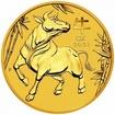 Zlatá mince Rok buvola, Lunární serie III. 2 oz 2021