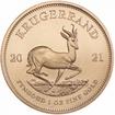 Zlatá mince Krugerrand 1 Oz 2021