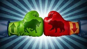 Týden na trzích podle burzovních grafů: Konsolidace po strmém propadu zajistila americkým akciím mírný růst, medvědi ale mají mírně navrch