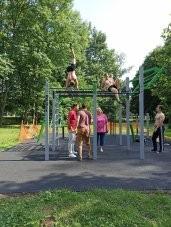 Workoutové hřiště Na Špici