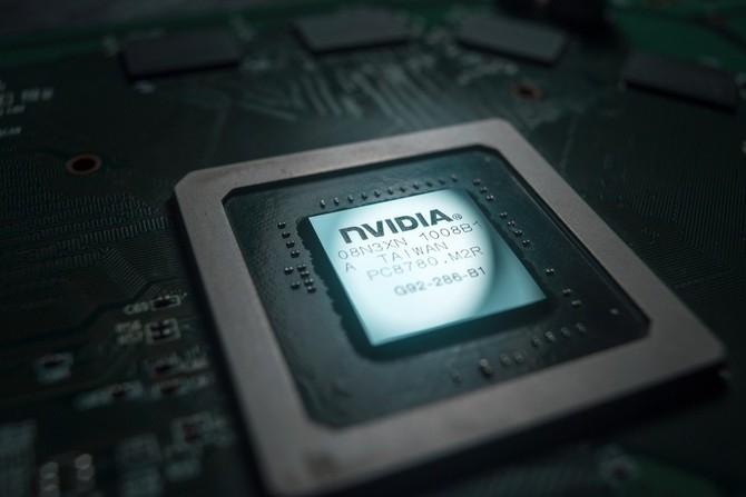 Detail čipi Nvidia