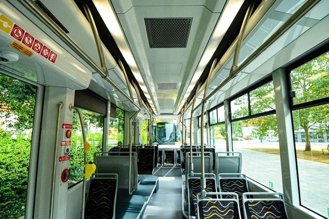 Interiér tramvaje (ilustrační foto)