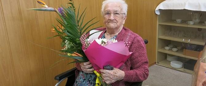 Paní Ludmila Krátká se dožila 102 let