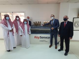 Návštěva v podniku Al Esnad spolupracující s českou firmou Ray Service
