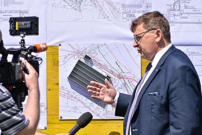 Začátek stavby Retenční nádrže na Vinicích (ilustrační foto)