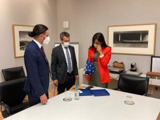 Setkání s místostarostkou Madridu Begoňou Villacís