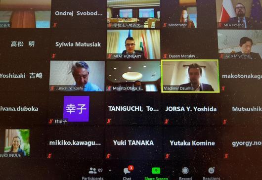 Seminář V4 + Japonsko na téma konektivita