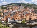 V zimě v Českém Krumlově nejsou davy turistů