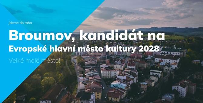 Broumov má podporu kraje ve snaze stát se Evropským hlavním městem kultury 2028