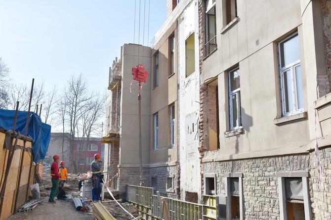 V Opočně pokračuje stavba nového domova pro seniory